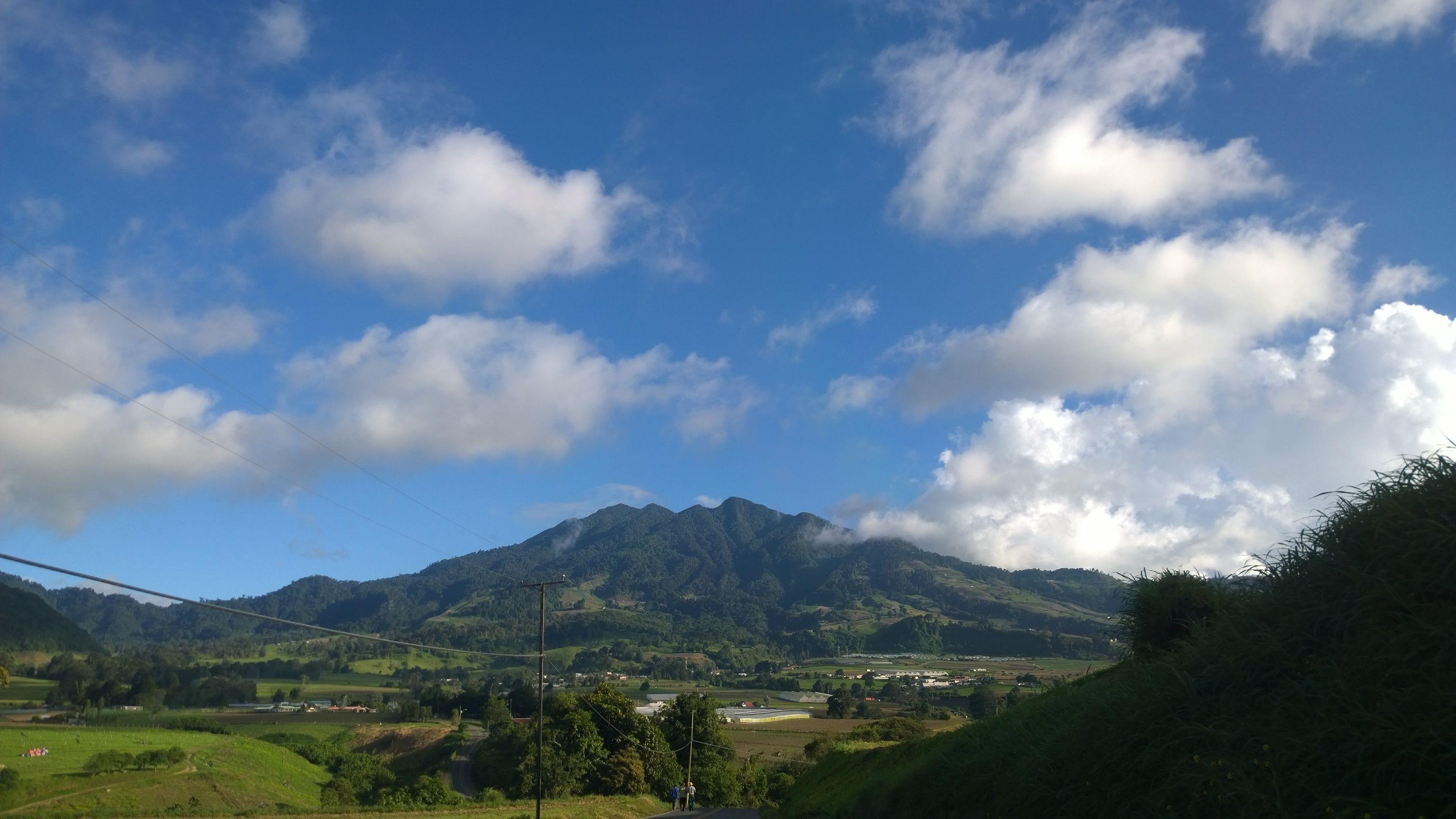 Panamá volcan baru