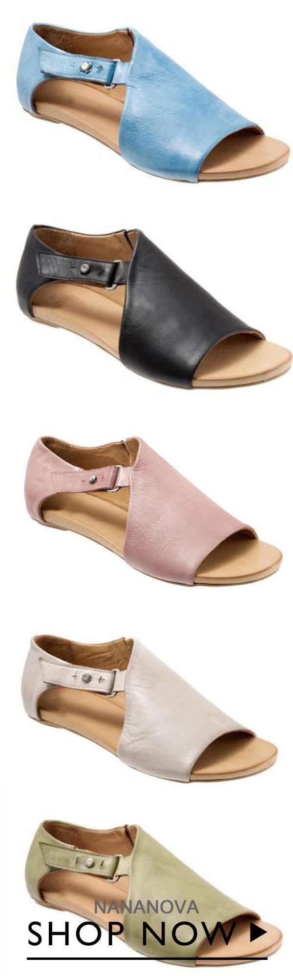3d31709db5e81 Nananova Women Open Toe Closed Back Sandal Shoes | Fashion w 2019 ...