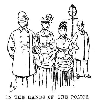 In the hands of the police. | Nellie bly, Bly, Bellevue ...