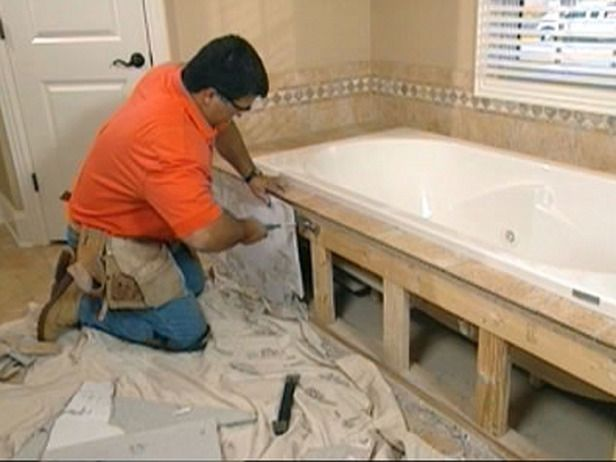 Claw Foot Tub Installation Surround Demolition With Images