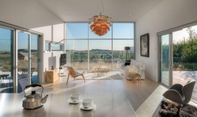 kucheninsel design schiffini bilder, architektur loft stil-wand verglasung hängeleuchte design, Design ideen