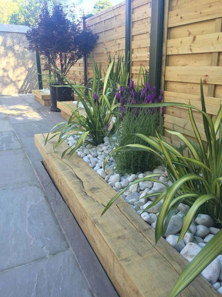 Landschafts-Ideen für den Vorgarten Better Homes and Gardens #onbudget #lands #smallfrontyardlandscapingideas