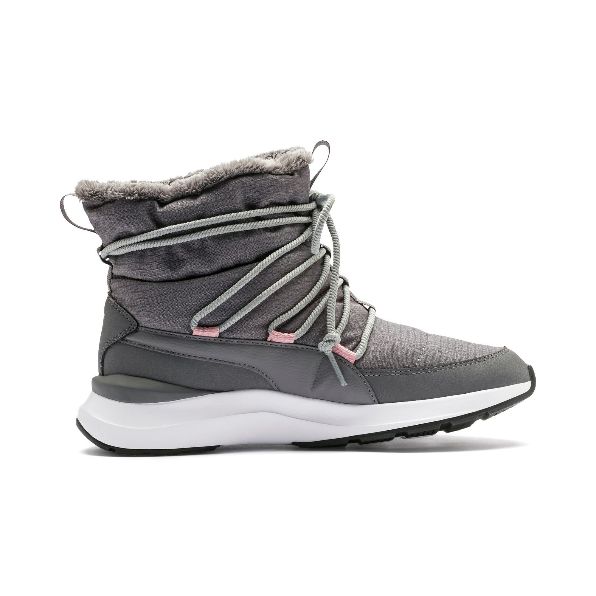 PUMA Adela Winter Boots in Steel GreyWhite size 6.5
