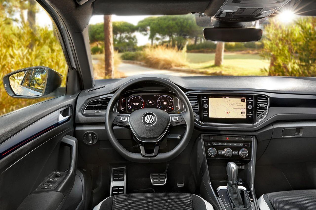 volkswagen t-roc blanc intérieur | Automobiles & Motos | Pinterest