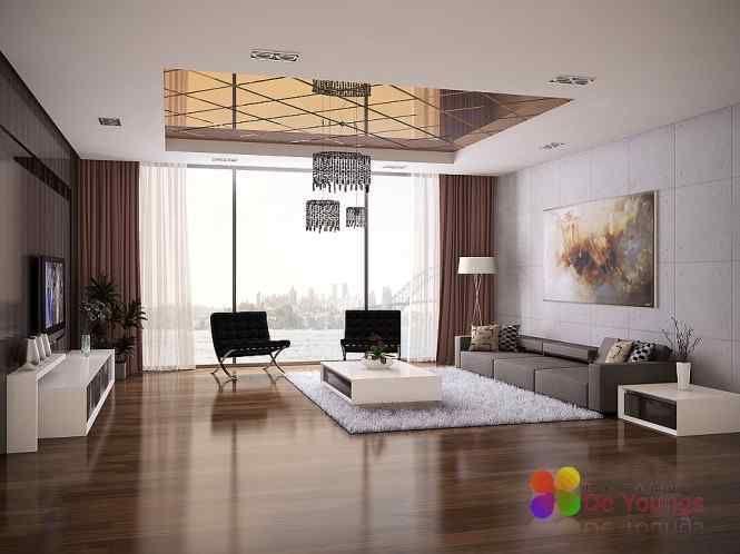 Interieur Woonkamer Zwart wit interieur woonkamer   APPARTEMENT ...