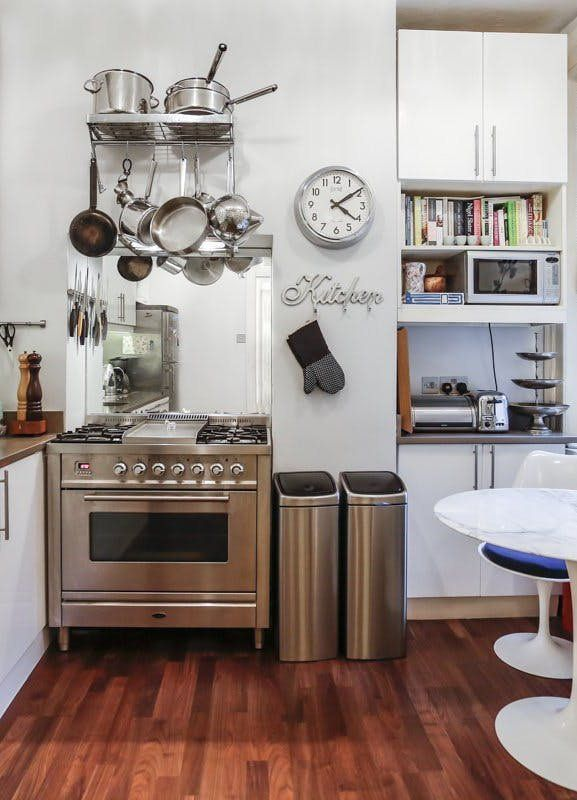 attractive Apartment Therapy Small Kitchen Part - 15: Small Kitchen Design Ideas Worth Saving | Apartment therapy, Kitchen design  and Therapy