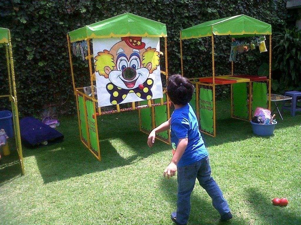 Renta de puestos de feria tipo kermes fiestas infantiles for Actividades para el jardin de infantes