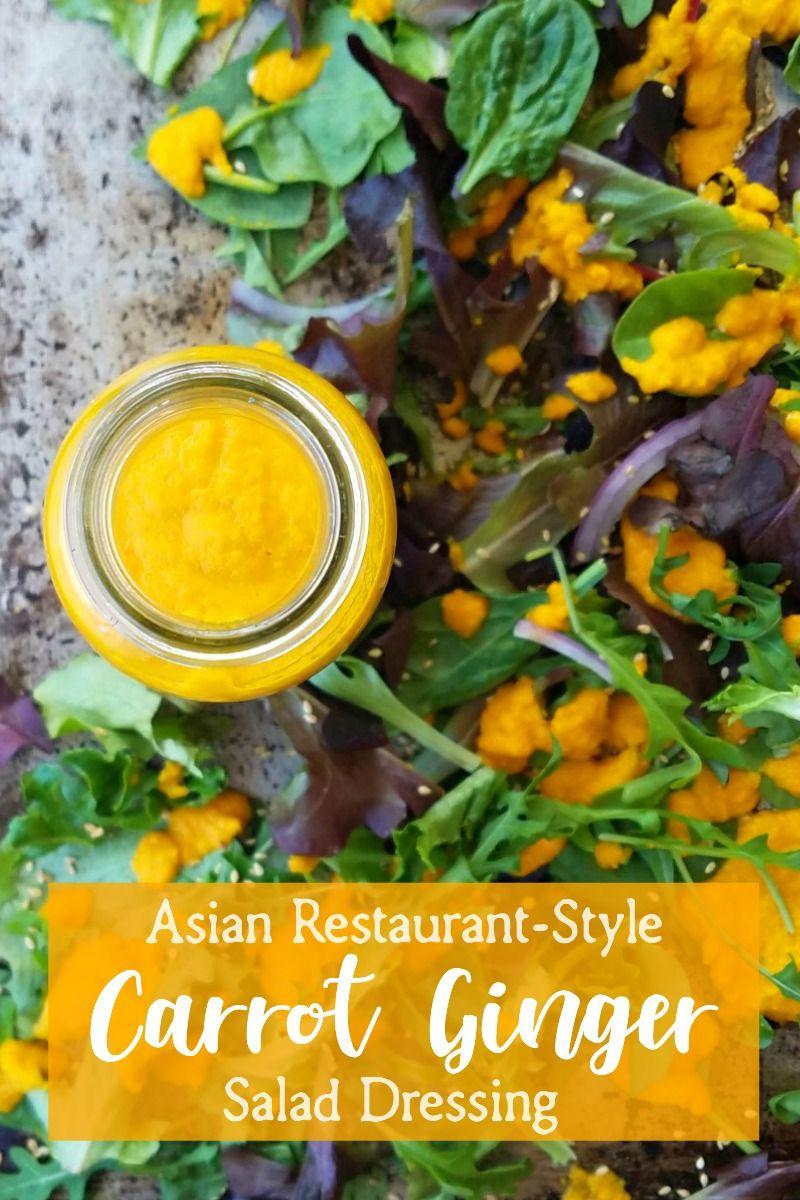 32++ Best carrot ginger dressing trends
