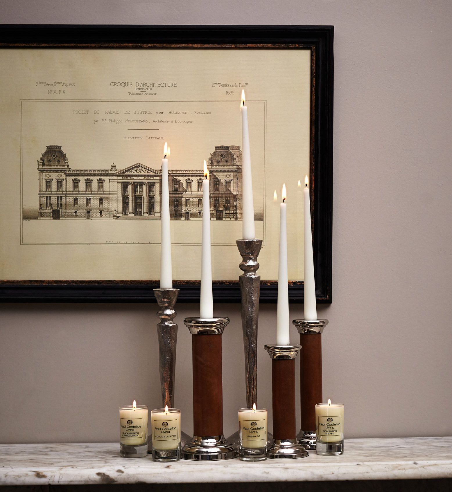 Dunnes Store Christmas Decorations: Lighten The Mood With Paul Costelloe Living Candles