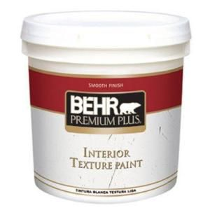 Behr Texture Paint Is Easier Than