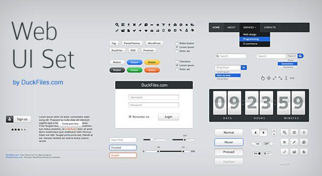 user interface templates