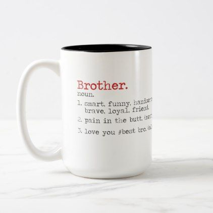 Quotes Mug For Brother Birthday Gift Best Bro Zazzle Com