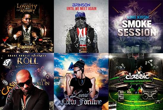 design a mixtape or album cover or flyer by sheergenius