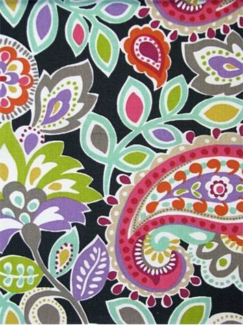 ollie black p kaufmann fabric 100 cotton multi purpose decorator fabric 27 - Decorator Fabric