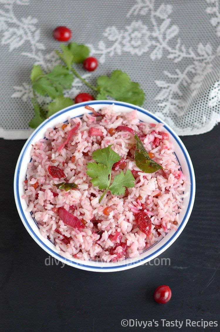 Cranberry rice recipe cranberry rice rice recipes and rice food forumfinder Images
