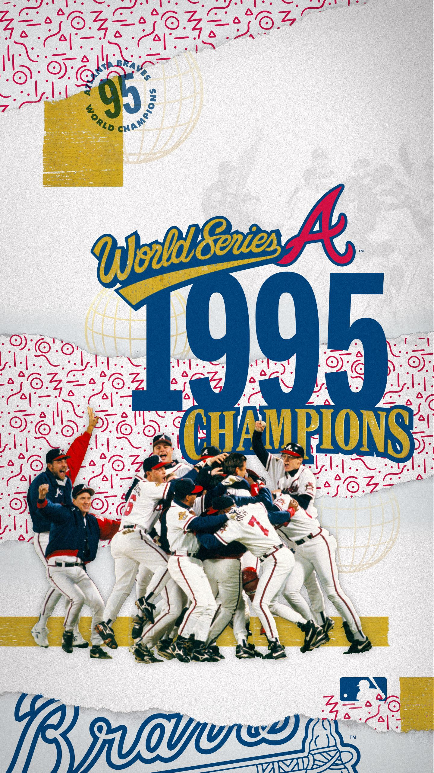 1995 World Series Champs Atlanta Braves In 2020 Atlanta Braves World Series Atlanta Braves Braves