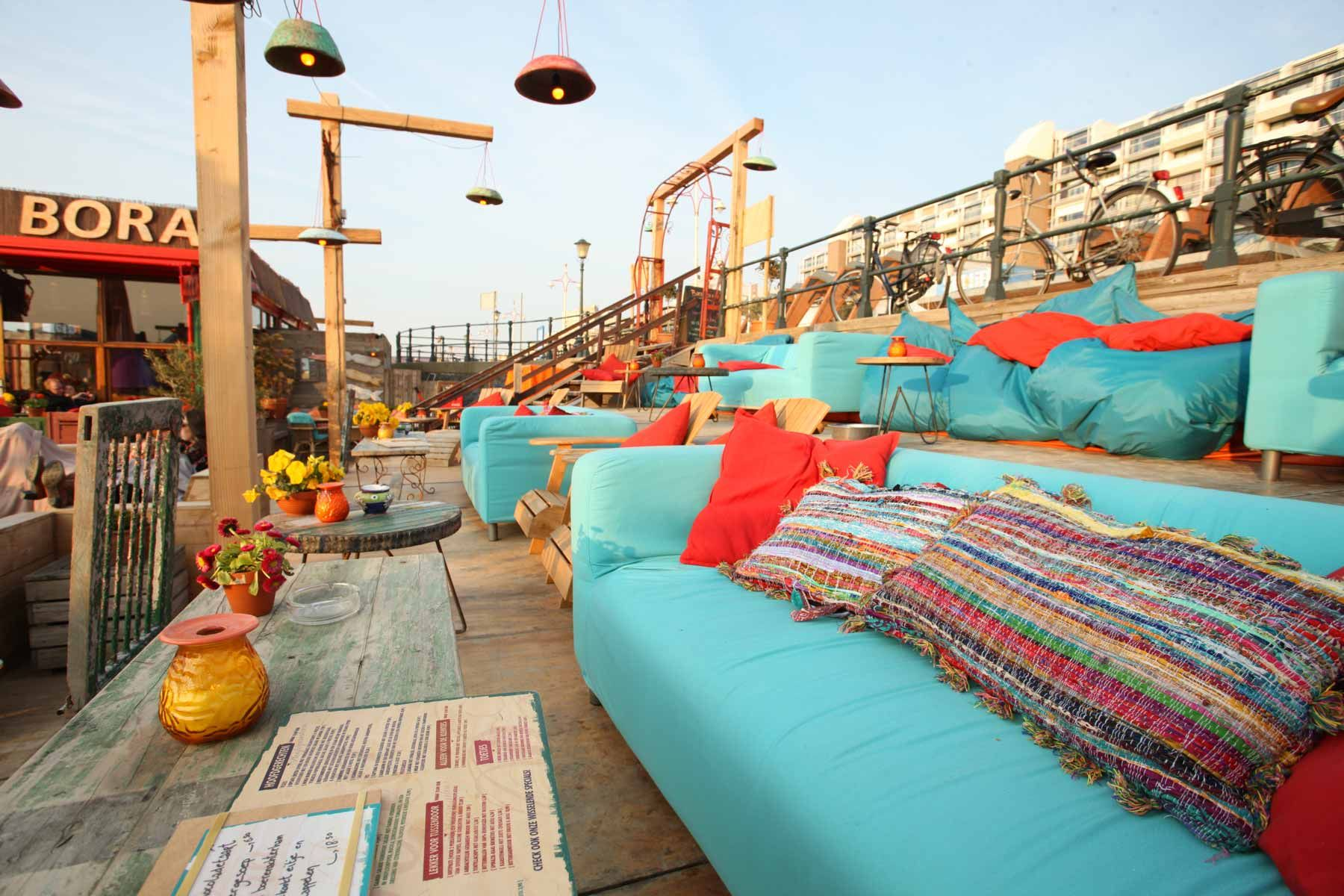 Scheveningen Beach Restaurants Beachclub Bora Bora Scheveningen Beach Bubbles