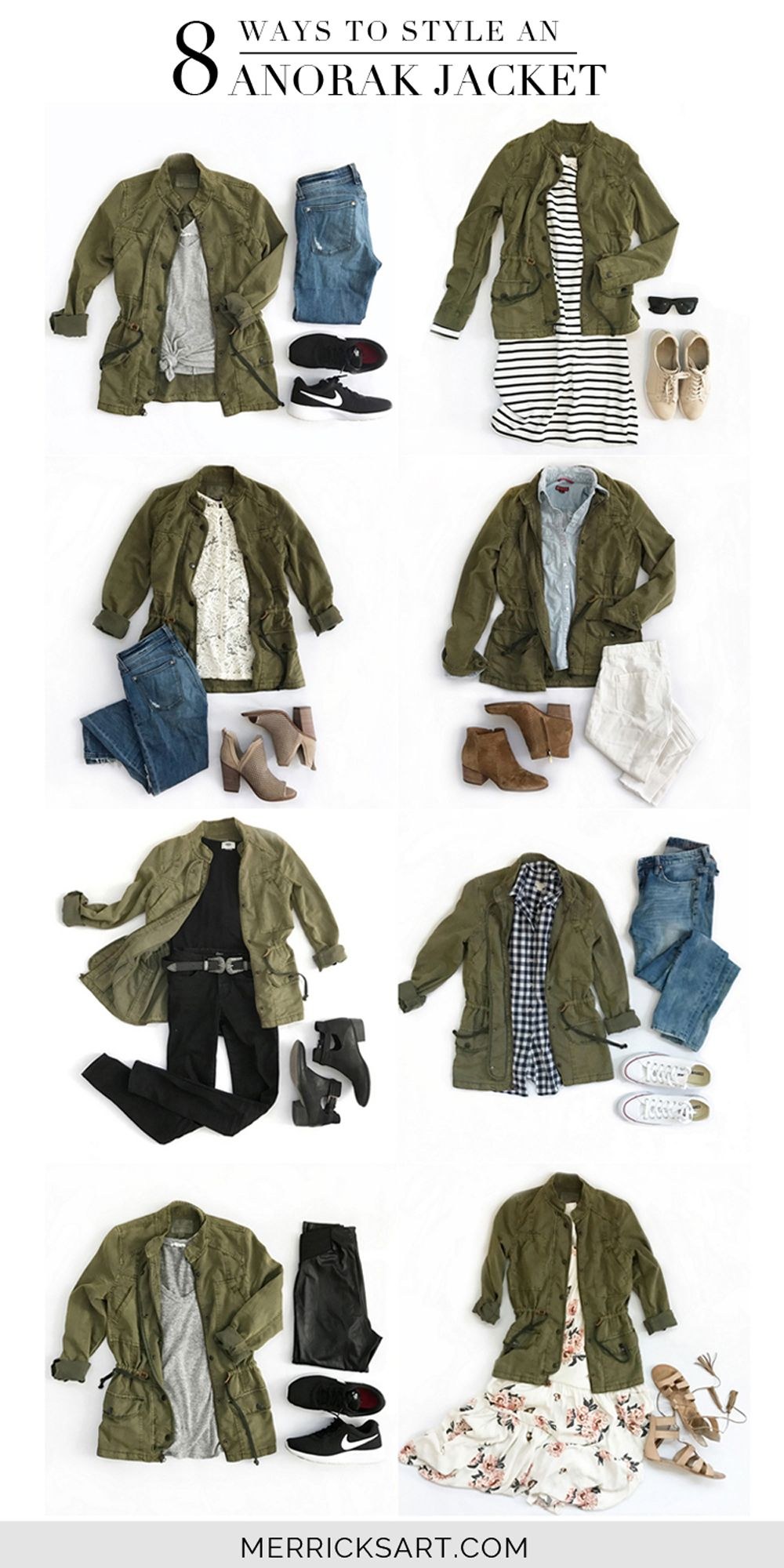 9fc149acc2 Merrick's Art // Style + Sewing for the Everyday Girl : 8 Ways to Style an  Olive Jacket
