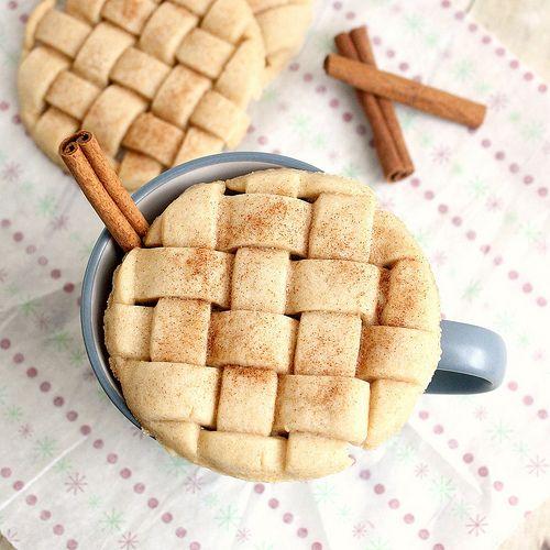 Eggnog sugar cookies...yum!