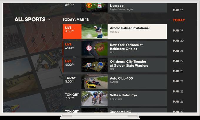Streaming sports service fuboTV raises 75 million from