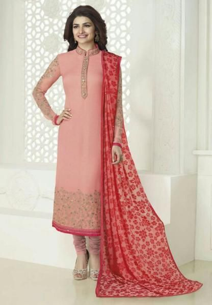 #Kaseesh #Prachi Indian #SalwarKameez Suit Vol20 4027 #Pink
