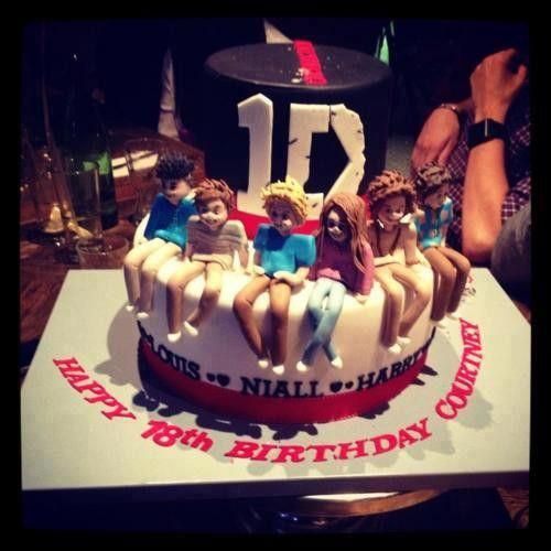 One Direction Cake I WANT IT FOR MY BIRTHDAY All about Sugar