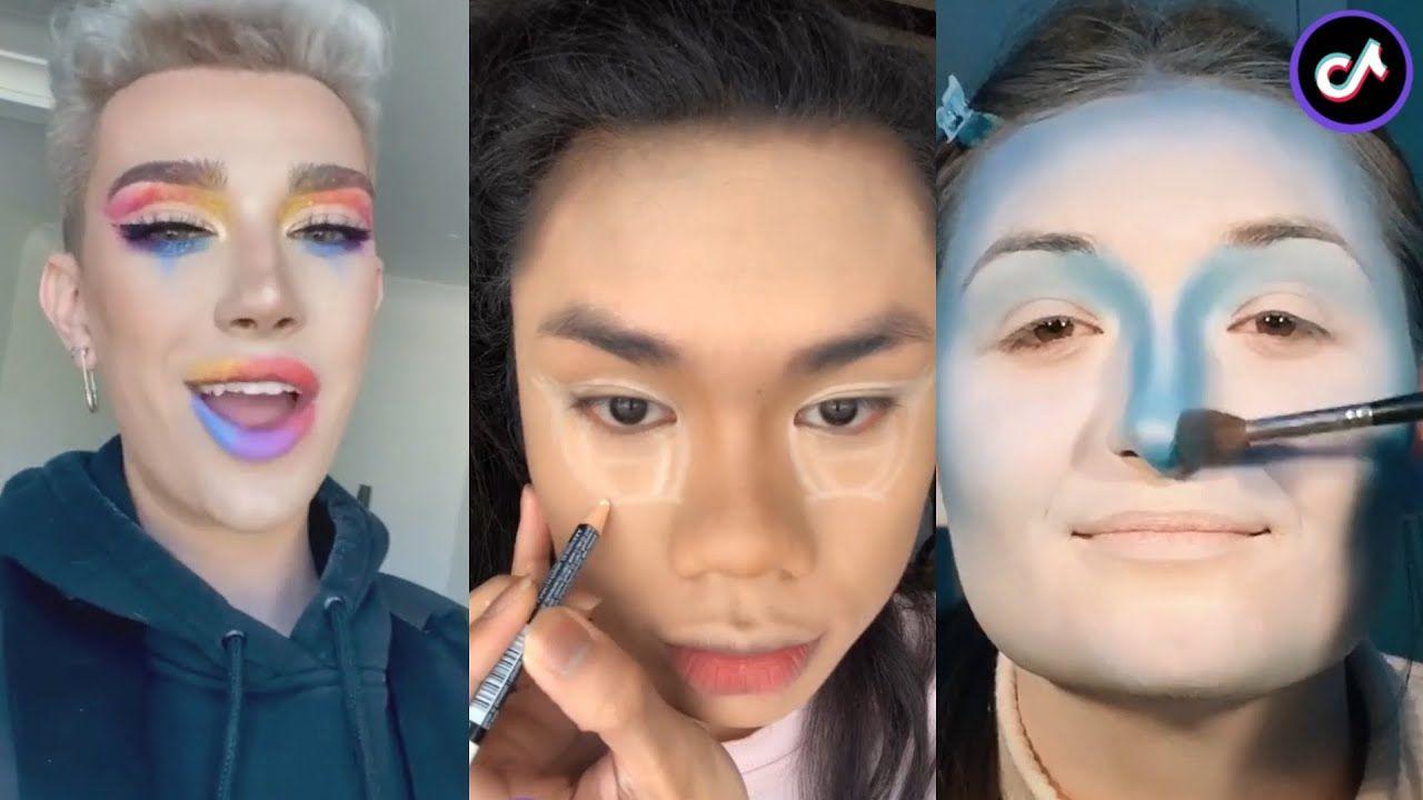 Tik Tok Crazy Make Up Compilation Hot Trend Transformation On Tiktok Crazy Makeup Make Up Hottest Trends