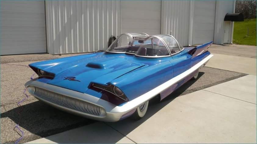 1955 Lincoln Futura Concept Car Automotive Concept Cars Cars