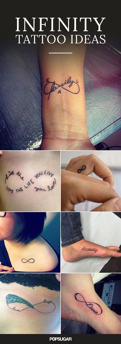 21 Infinity Sign Tattoos You Wont Regret Getting Infinity Tattoos