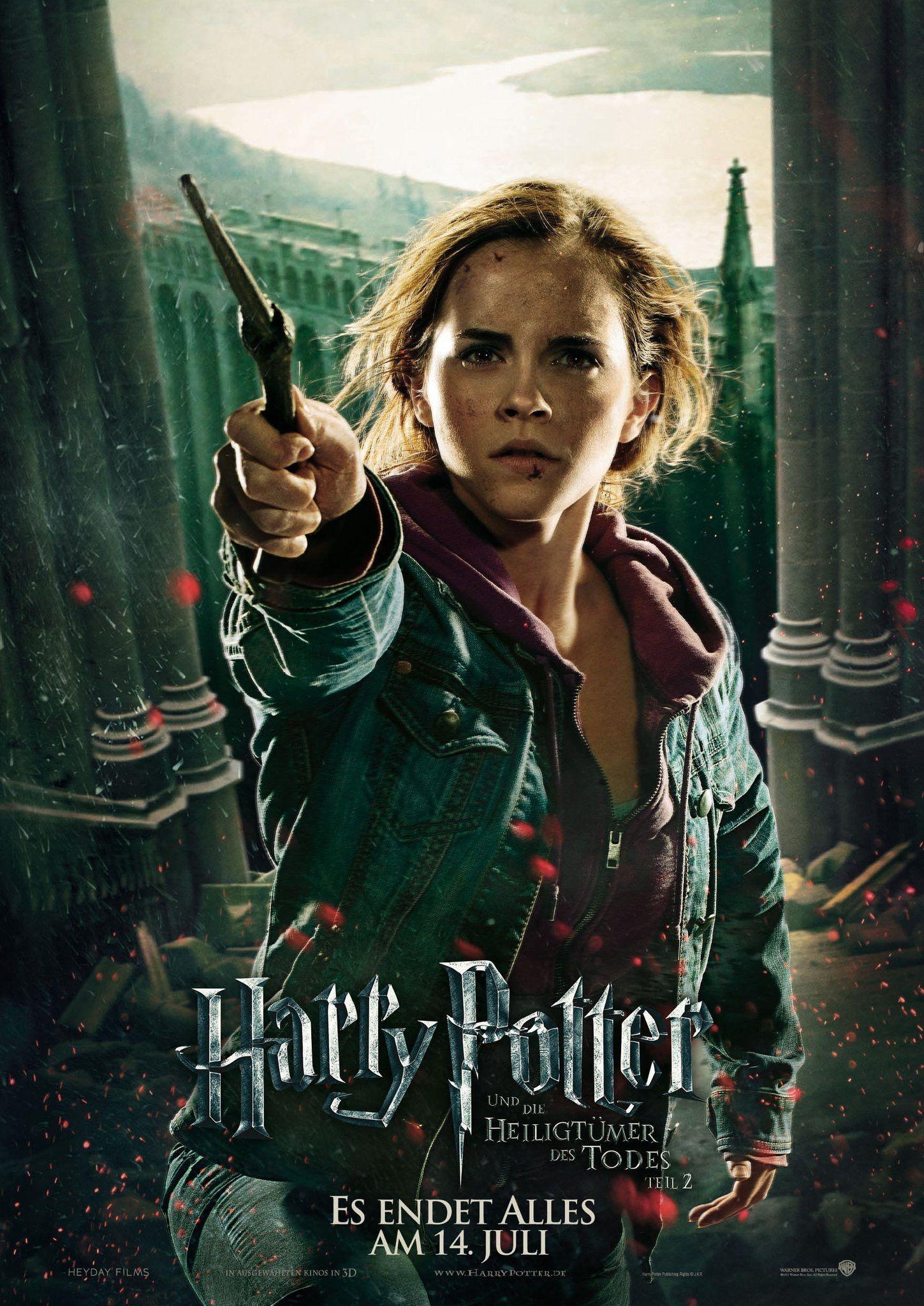 Harry Potter Und Die Heiligtumer Des Todes Teil 2 Movie Poster Hermine Gr In 2020 Harry Potter Phone Harry Potter Deathly Hallows Part 2