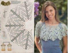 Grace y todo en Crochet: TOPS, CHALECOS Y BELLOS DISEÑOS...