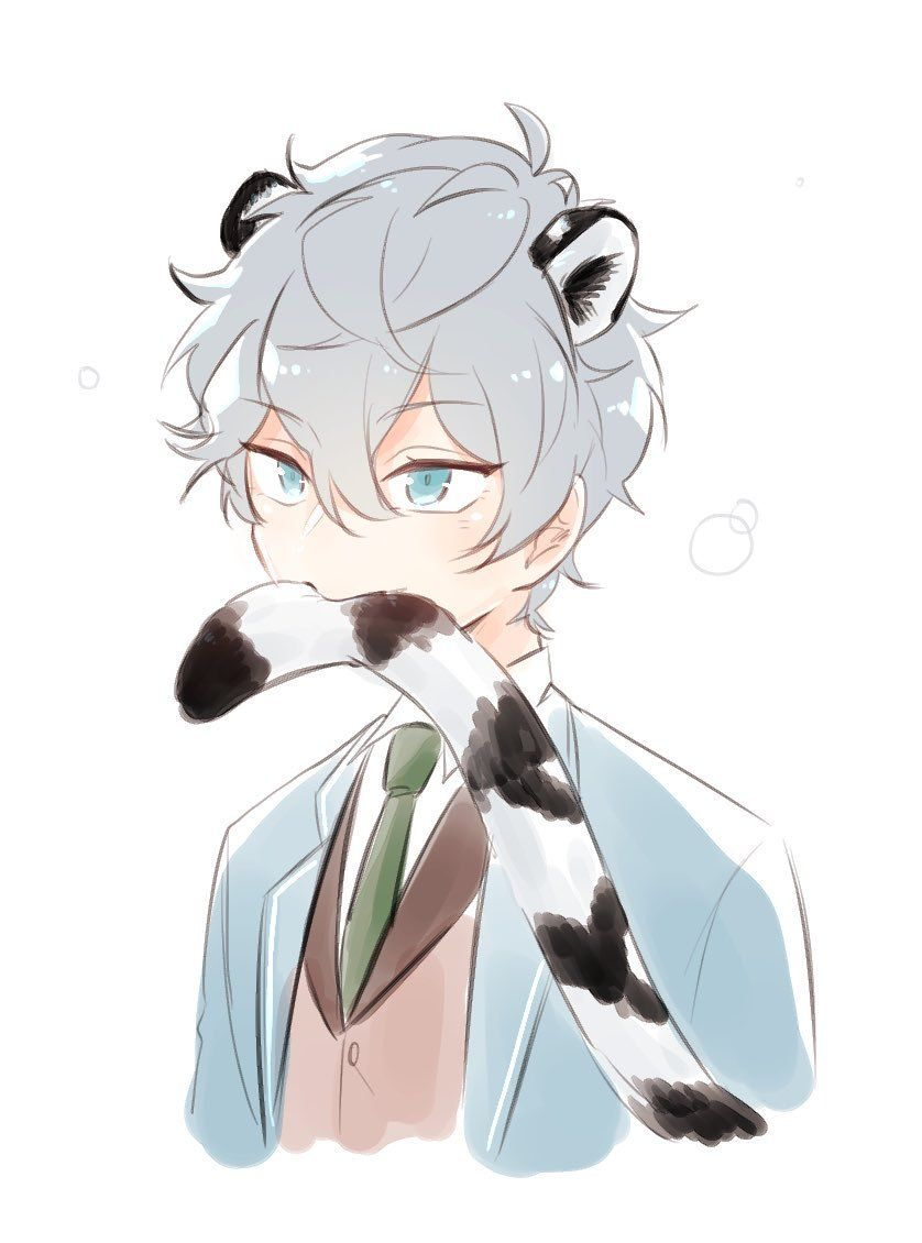 Cute Anime Cat Boy : anime, Twitter, Anime, Guys,