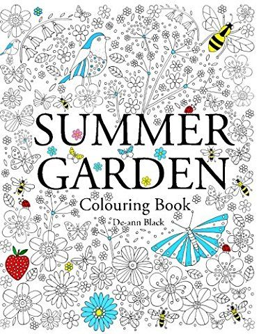 Summer Garden Colouring Book