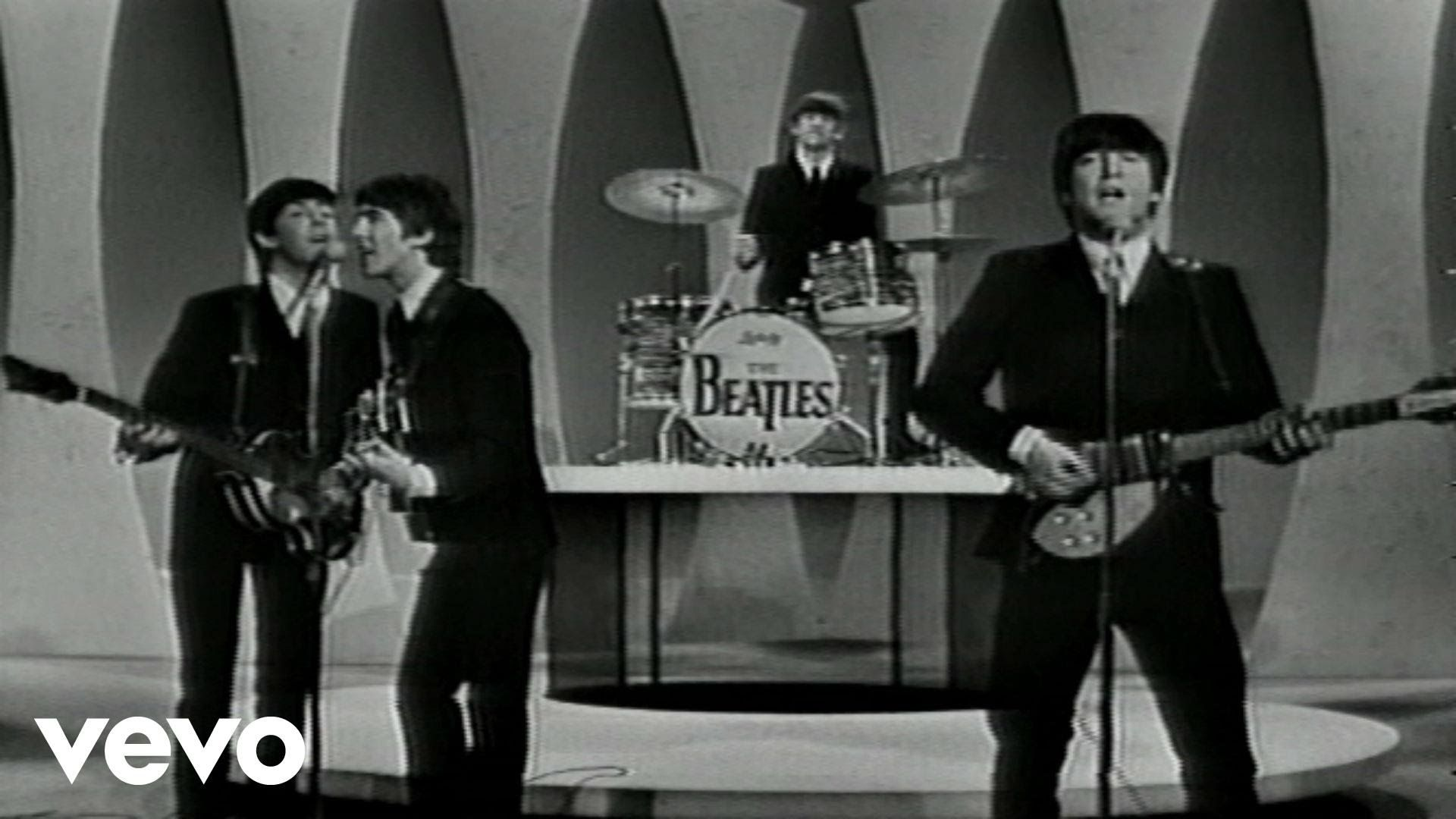 The Beatles I Want To Hold Your Hand Performed Live On The Ed Sullivan Show 2 9 64 I Want To Hold You The Beatles The Ed Sullivan Show Twist And Shout