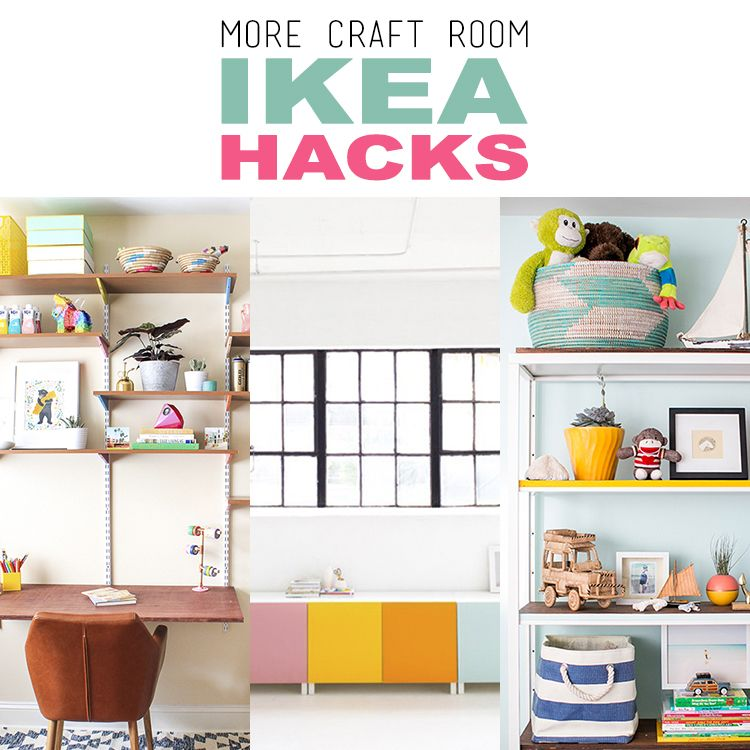 See how Jen from iheart organizing creates what she calls The Easiest Pegboard Project EVER!!! See how simple it is to make with a Ribba Frame from Ikea and a bit of imagination. Every Craft Room needs one of these and even if you don't have a Craft Room you could use one of these …