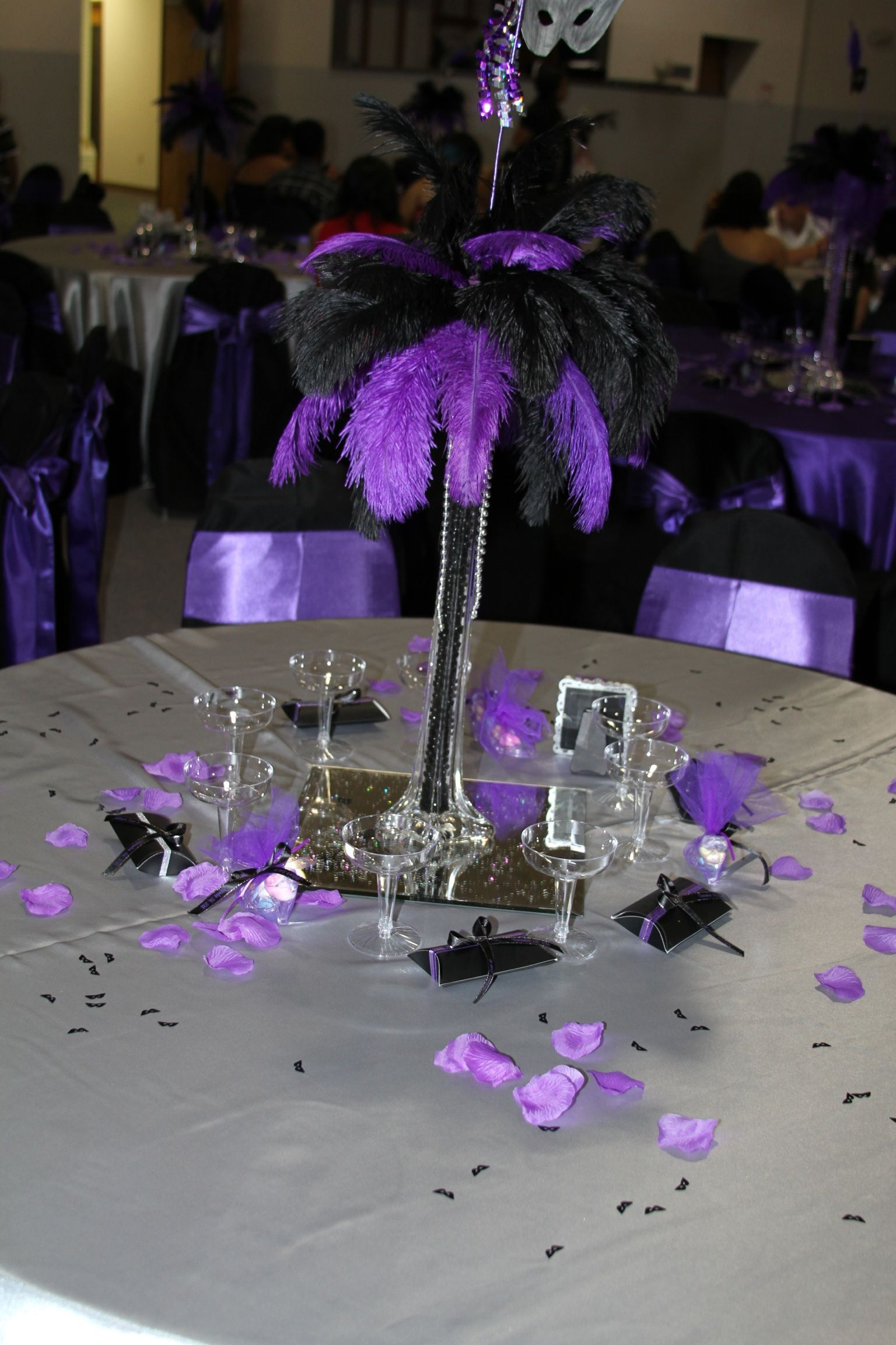 Masquerade Mask Table Decorations Magnificent Masquerade Theme  Sweet 16 And More  Pinterest  Masquerade Review