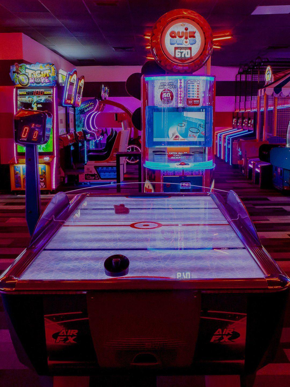 Bowling Alley Party Venue In Bradenton Bowlero Retro Arcade Retro Wallpaper Arcade Room