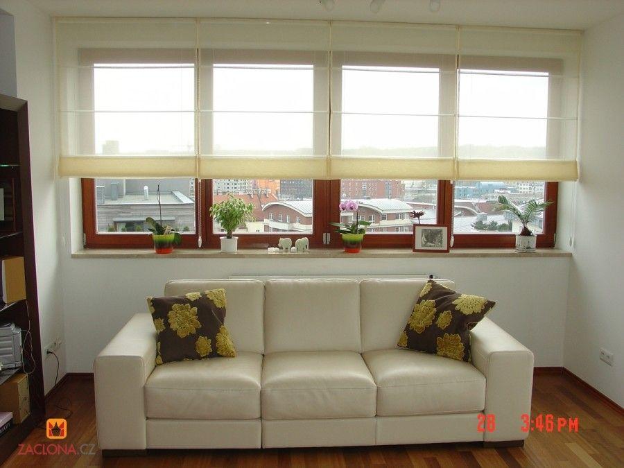 Coole Raffrollos nicht nur für Sommertage Bilder Gardinen - moderne raffrollos wohnzimmer