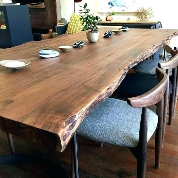 Modern Chairs That Look Good With A Natural Edge Dining Table Google Search Dining Table Design Farmhouse Table Plans Dining Room Design