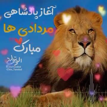 آغاز پادشاهی مرداد ماهی آغاز پادشاهی مرداد ماهی هاتولدمه من مردادی ام اگر باران بودم انقدر می باریدم تا غبار غم را از دلت پاک کنماگر ا Life Quotes Animals Lion