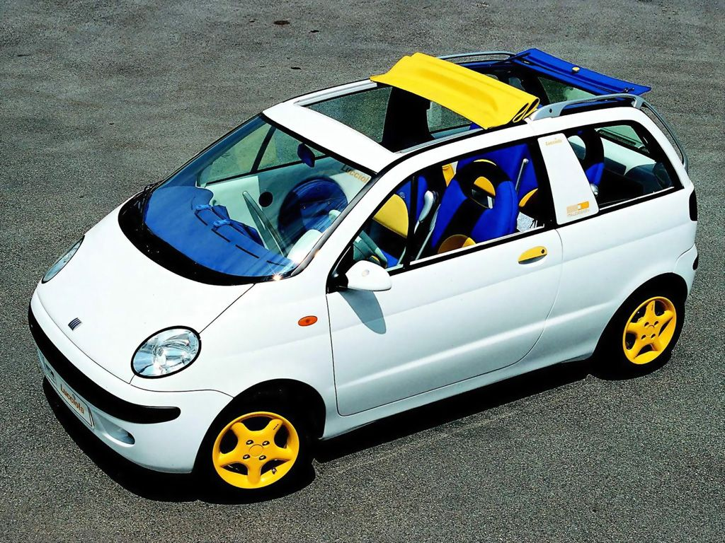Fiat Lucciola Concept 170 1993 マイクロカー カー スケッチ