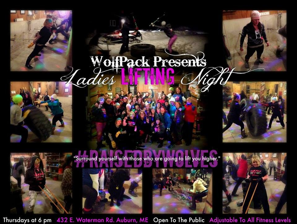 Over 30 #SheWolves rocked The Den for Ladies Lifting Night on this brisk but beautiful March night! It's a new month and that means a new workout for #HappyHour and it was a good one! Both our experienced and brand new ladies got a great workout in a positive and loving atmosphere.  Thank you all for creating a community of ladies who want to LIFT each other up. You prove every day that #StrongIsBeautiful!