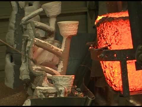 Lost Wax Casting Process - YouTube