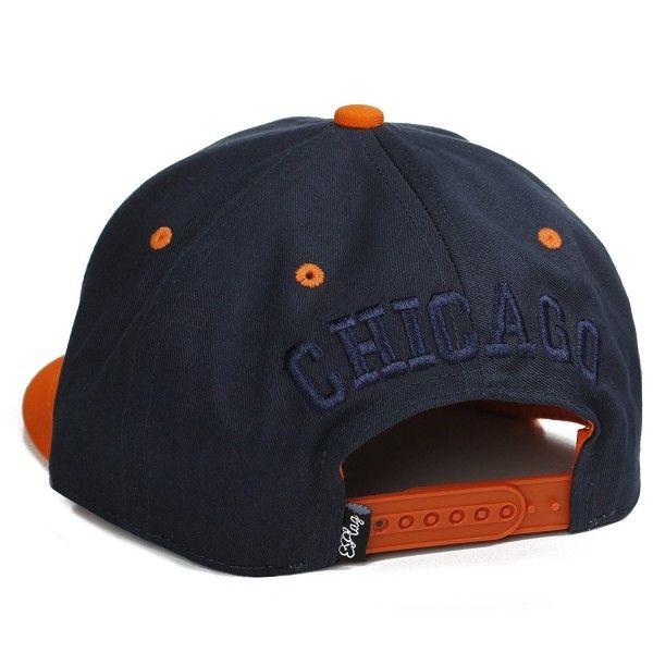 USA Cities and States Flat Bill Block Script City Snapback Hat Cap ... 72eab187f8