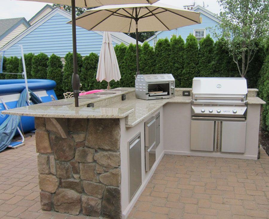 Small L Shaped Outdoor Kitchen Novocom Top