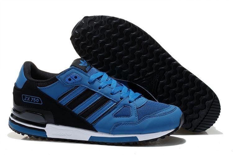 adidas zx 750 hombre azul