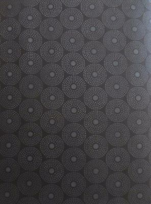 Circles~Gray on Black~-Quilting Treasures~23540~Z~BTY - Quilt Sew Blender SB219