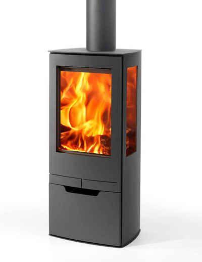 panadero kaminofen zinc stahl 7 9 kw 3 sichtscheiben holzfacht r. Black Bedroom Furniture Sets. Home Design Ideas
