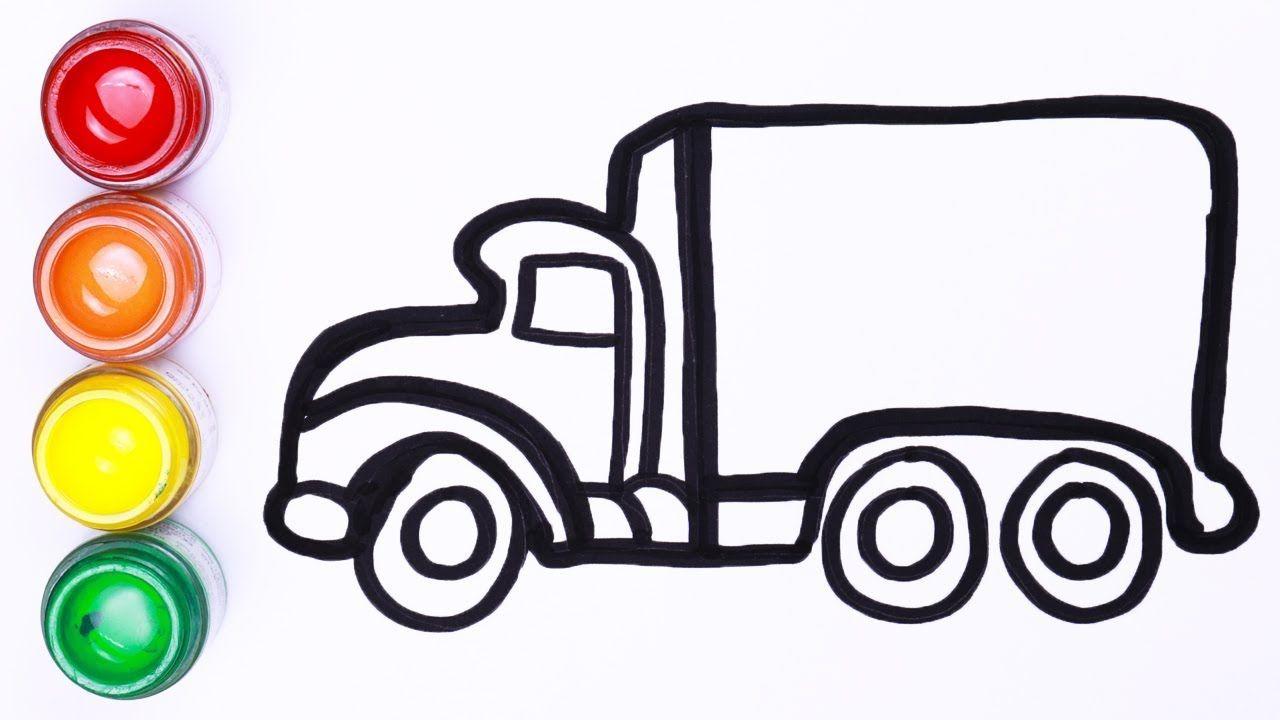 Truk Melukis Dan Menggambar Untuk Anak Anak Toy Art Lukisan Untuk Anak Anak