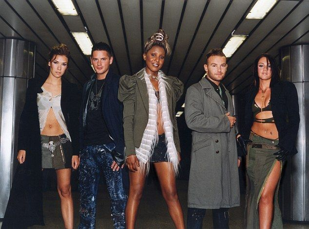 Back in the day: They initially catapulted to fame in 2001 after being formed on the ITV talent show, Popstars